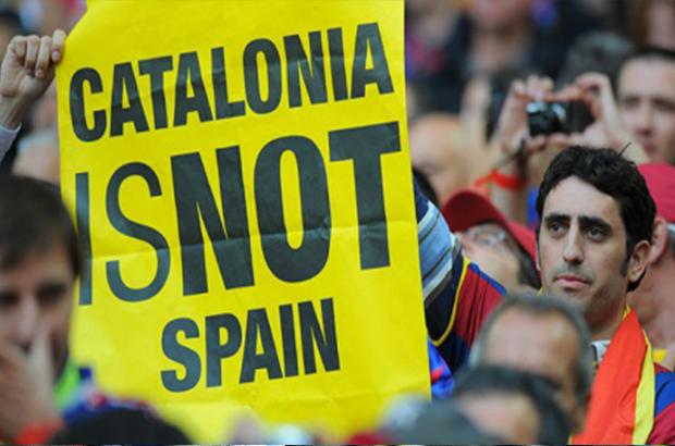 رسمياً   أعلام كتالونيا تتحدى ملك إسبانيا في نهائي الكأس