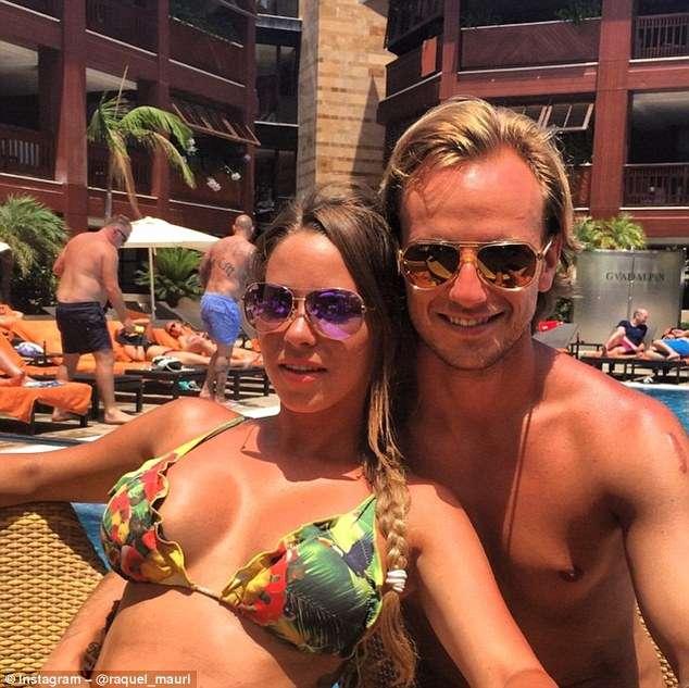 Ivan-Rakitic-and-his-wife-Raquel