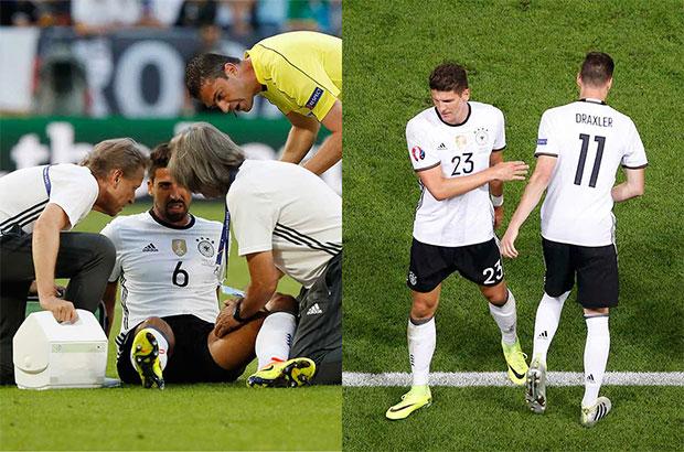 الإيقاف والغيابات تضرب ألمانيا قبل موقعة نصف النهائي