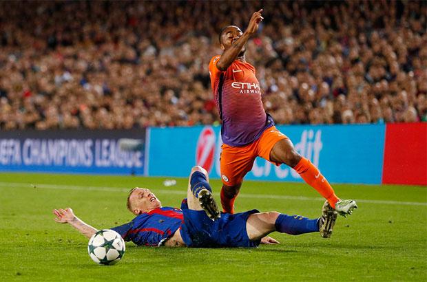 الأفضل و الأسوأ في مباراة| برشلونة - مانشستر سيتي