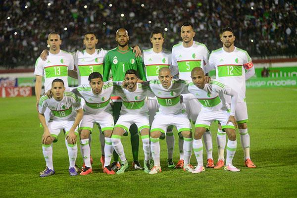 """""""الطرد"""" مصير لاعبي الجزائر حال فشلهم في التتويج بلقب كأس أمم 2017 !"""