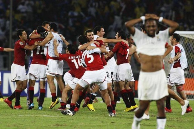 """بث مباشر .. تابعونا دقيقة بدقيقة في تغطية مباراة """" مصر - غانا """""""