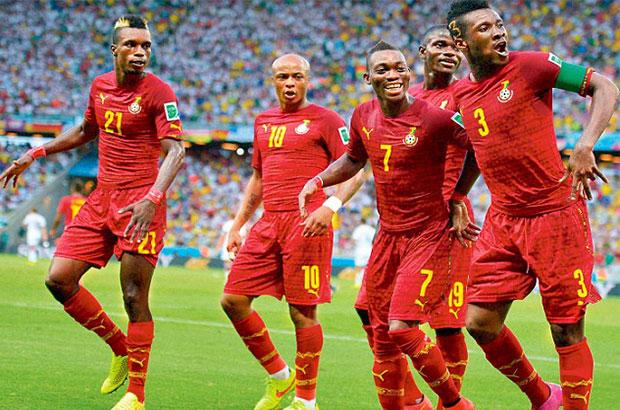 كتيبة الكان | جيان والأخوان أيو على رأس قائمة غانا لمنافسة الفراعنة