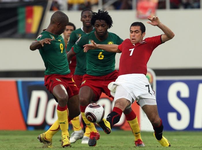 Soccer - Africa Cup of Nations 2010 - Quarter-Final - Egypt v Cameroon - Benguela