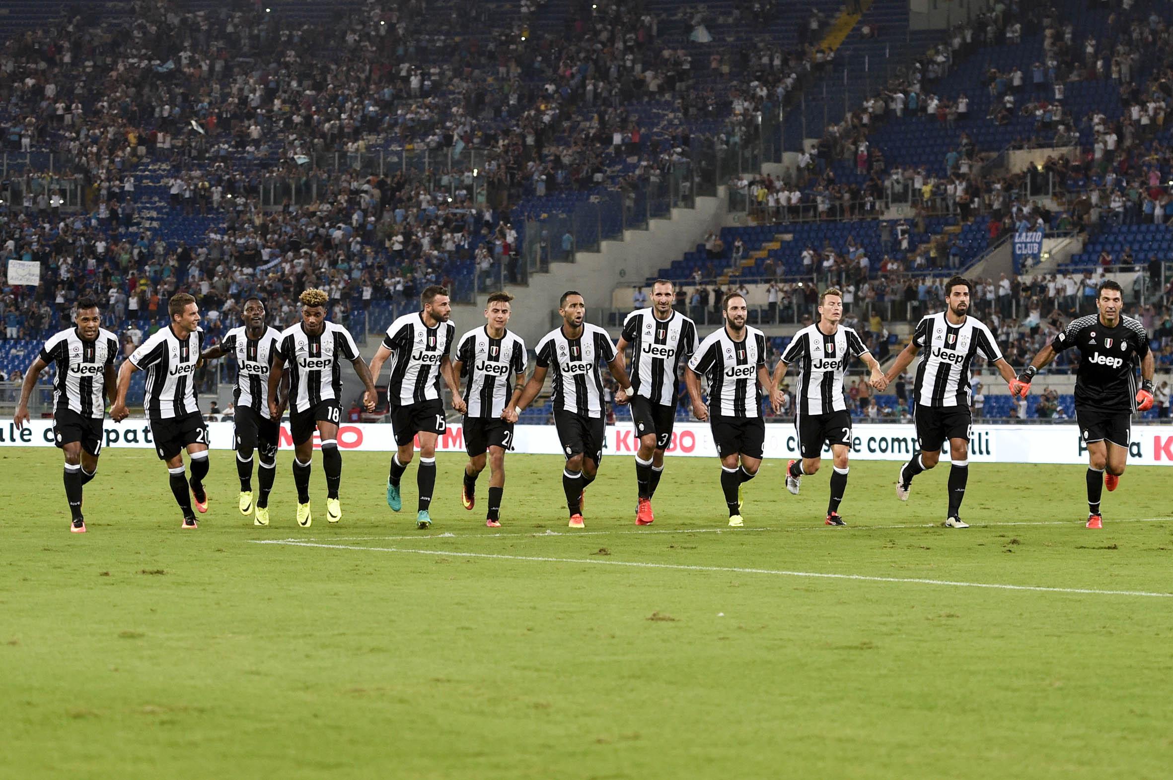 Campionato Italiano Serie A 2016-2017 2 giornata Roma - 27.08.2016 - Stadio Olimpico - Lazio vs Juventus - nella foto: /Ph.Corradetti-Ag Aldo Liverani