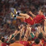صور.. روما يختص الزمالك في الوداع العالمي لـ «توتي» !