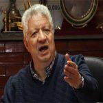رئيس الزمالك يهدد بإيقاف باتيستوتا المصري