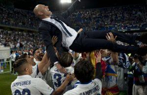 زيدان , ريال مدريد , الدوري الإسباني