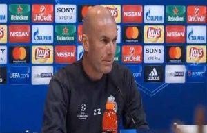 ماذا قال زيدان قبل مواجهة أتلتيكو مدريد ؟