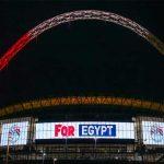 فيديو   منتخب مصر يصل للعالمية على شرف ملعب ويمبلي