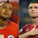 فيدال: لن نلعب ضد كريستيانو رونالدو ولكن !
