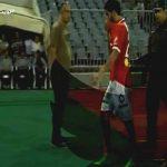 جمهور الأهلي ينصب صالح جمعة ملكا بعد انفجاره أمام المصري