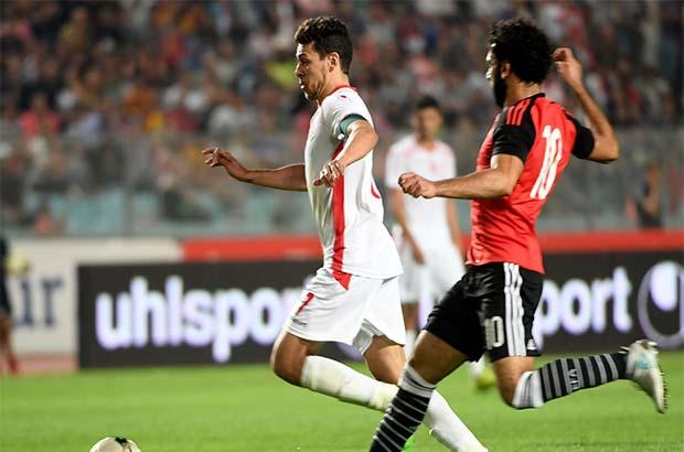 منتخب-مصر-تونس-محمد-صلاح-المساكني