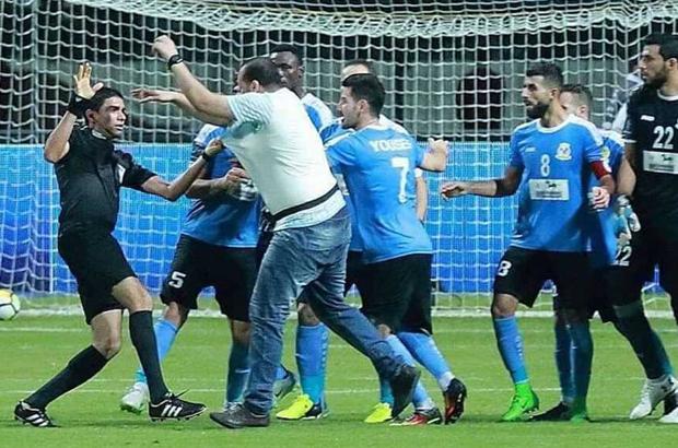 معركة مصرية أردنية بسبب هدف تونسي في نهائي البطولة العربية
