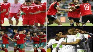 مصر - تونس - الجزائر - المغرب