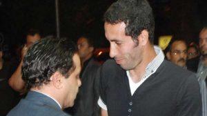 صور.. تريكة وهنيدي يتبادلان رسائل ساخرة بعد صعود مصر !