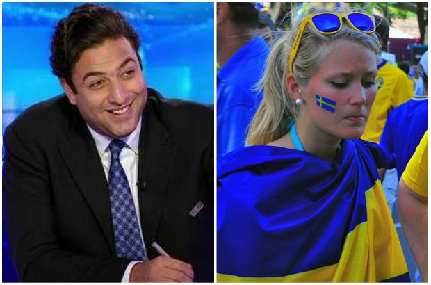 ميدو , مشجعات السويد