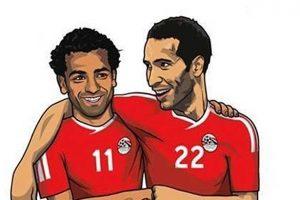صلاح - أبو تريكة