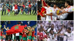 مصر , المغرب . تونس , السعودية