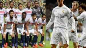 بالصور.. محمد هنيدي يسخر من الزمالك وريال مدريد !
