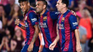 ألفيس يؤكد: رحيل نيمار عن برشلونة كان بسبب ميسي