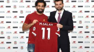 بالصور.. وكيل صلاح يثير التكهنات حول مستقبله في ليفربول
