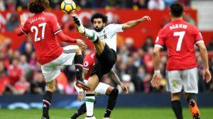 الصحافة الإنجليزية: جماهير ليفربول سعيدة بسخرية صلاح من مانشستر يونايتد