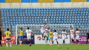 """الزمالك يقسو على """"ولاد عمه"""" برباعية ويقترب من اقتناص لقب كأس مصر"""