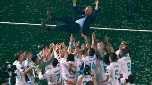 ماذا قال لاعبو ريال مدريد بعد قرار زيدان بالرحيل المفاجئ ؟