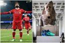 """المتحف البريطاني ينحني لإنجازات """"صلاح"""" مع ليفربول ويضع حذاءه بجانب الآثار"""