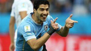 """سواريز يسعى للتخلص من """"لعنة"""" كأس العالم"""