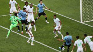 السعودية ترافق مصر في الخروج من كأس العالم بعد أداء مشرف أمام أوروجواي