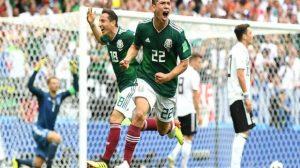 زلزال في موسكو.. المكسيك تعطل الماكينات الألمانية وتفوز بهدف لوزانو