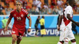 يوسف بولسن يقود الدنمارك لفوز مثير على حساب بيرو
