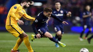 بيكيه يرد بقوة على أنباء خيانة برشلونة لصالح جريزمان