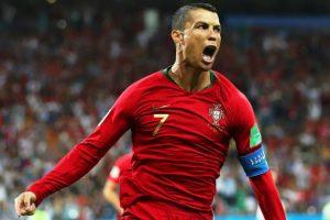 المدمر رونالدو يخطف نقطة للبرتغال من أنياب إسبانيا