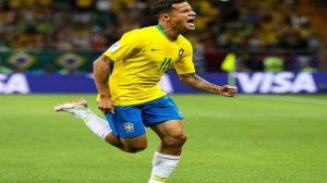 بهدف مذهل.. كوتينيو أفضل لاعب في مباراة البرازيل وسويسرا