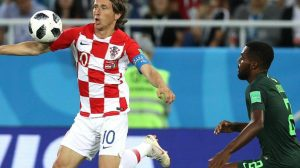 مودريتش يقود كرواتيا لقهر نسور نيجيريا بثنائية