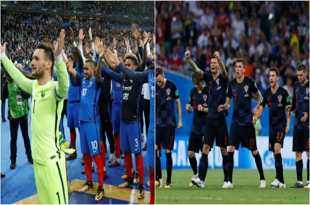 """التاريخ يقف بجوار فرنسا أمام كرواتيا في نهائي """"الحلم"""""""