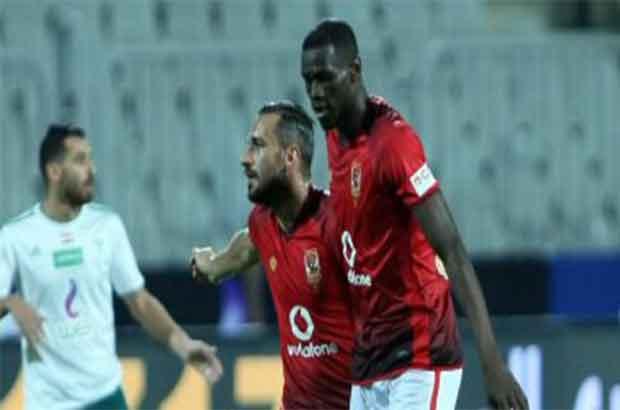 كوليبالي يقود الأهلي للفوز الأول بالدوري على حساب المصري