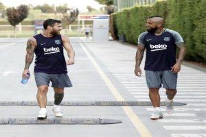 فيدال يتوعد ريال مدريد بعد انضمامه لبرشلونة بسبب دوري الأبطال
