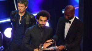 ماذا قال صلاح بعد خطفه جائزة الأفضل من رونالدو وبيل وميسي ؟