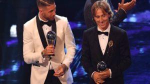 مودريتش يوجه رسالة لصلاح بعد خسارته لجائزة أفضل لاعب في العالم