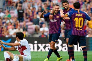 برشلونة يُهين هويسكا في كتالونية بـ 8 أهداف رائعة وسط تألق سيد اللاعبين !