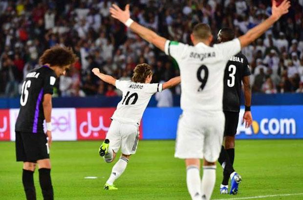 رباعية تمنح ريال مدريد تتويج تاريخي بكأس العالم للأندية