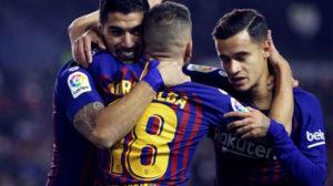 برشلونة يخسر أمام ليفانتي بكأس أسبانيا