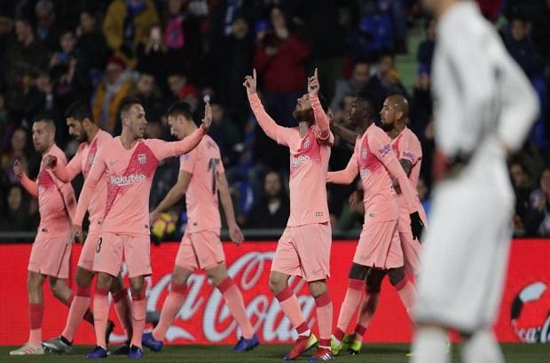 """برشلونة يبتعد بصدارة الليجا بفوز صعب في """"مدريد"""""""