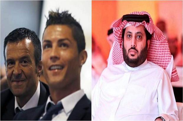 تركي آل الشيخ يتفق مع وكيل كريستيانو رونالدو على صفقة بيراميدز الجديدة