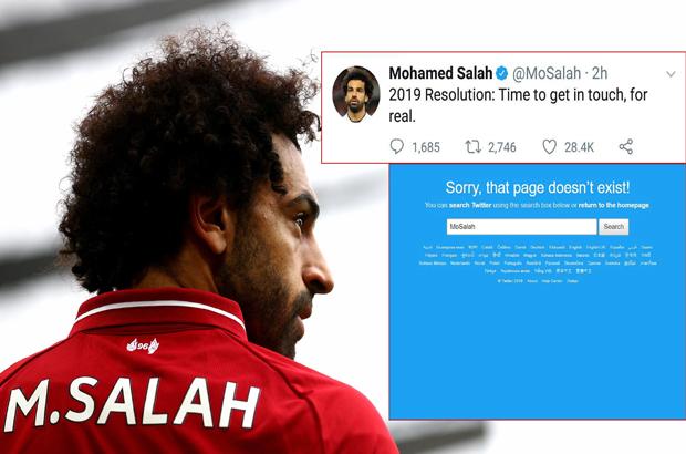 السبب وراء غلق محمد صلاح حساباته على فيسبوك وتويتر