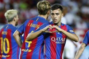 برشلونة يعلن انتقال منير الحدادي لإشبيلية